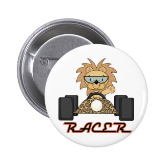 Racing Lion T-shirts and Gifts Pin