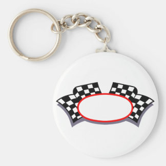 Racing Logo Key Ring
