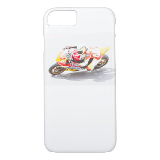 Racing motorcycle iPhone case