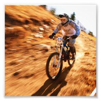 Racing Offroad Dirtbike Photographic Print