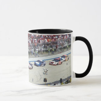 Racing Oil Painting Cup