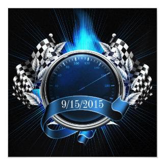 Racing Race Car Event Invitation