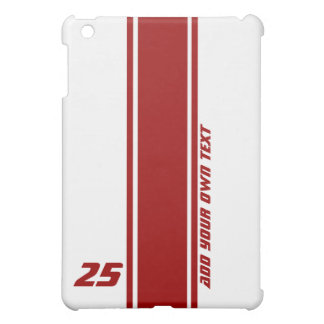 Racing Stripe Changeable Color iPad Mini Cover
