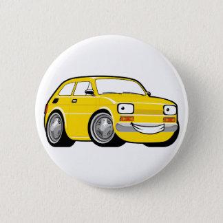 Racing toddler 6 cm round badge