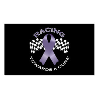 Racing Towards a Cure v2 - All Cancer - card 2 Business Cards