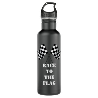 Racing water bottle