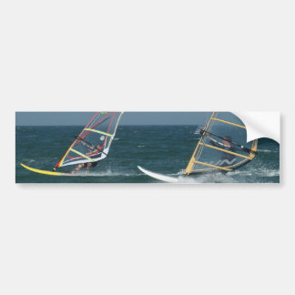 Racing Windsurfers Bumper Stickers