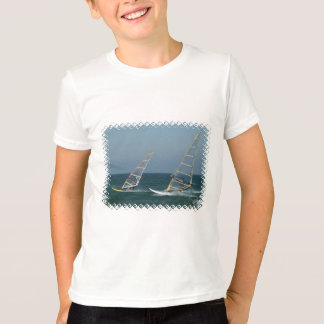 Racing Windsurfers Kid's T-Shirt
