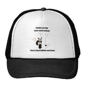 Racist panda trucker hat