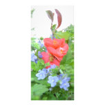 RACK CARD FLOWERS gardener love