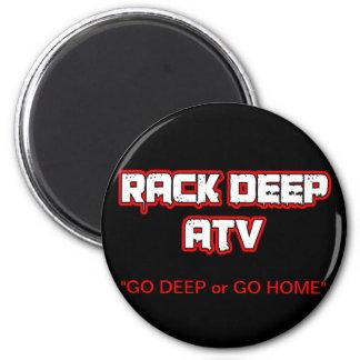 Rack Deep Atv Apparel & Accesories 6 Cm Round Magnet