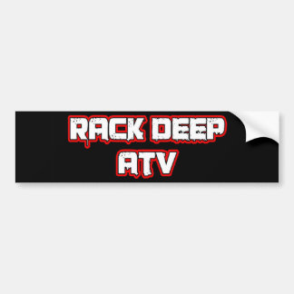 Rack Deep Atv Apparel & Accesories Car Bumper Sticker