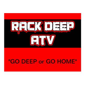 Rack Deep Atv Apparel & Accesories Postcard