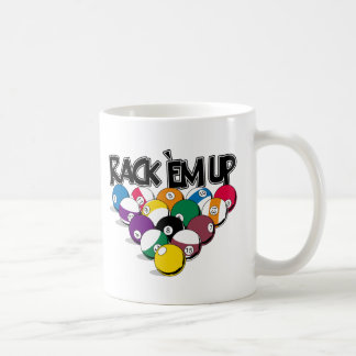 Rack Em Up Pool Coffee Mug