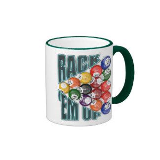 Rack Em Up Ringer Mug