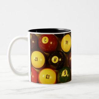 Rack em up! Two-Tone coffee mug