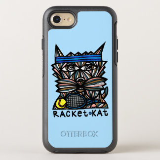 """Racket Kat"" Apple & Samsung Otterbox Case"