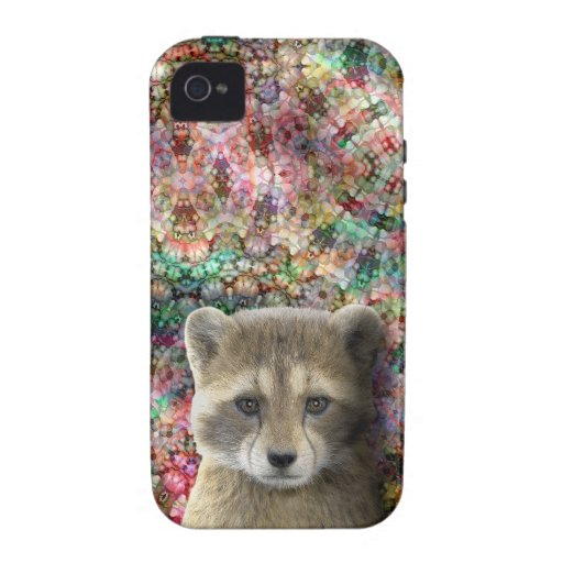 Racket visits the Crystal Castle - Case-Mate Tough Vibe iPhone 4 Covers