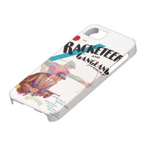 Racketeer and Gangland Stories iPhone case iPhone 5 Case