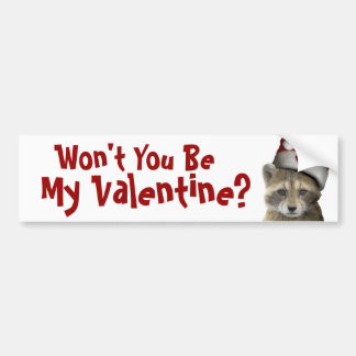 Racket's Valentine's Day Products - Mult Products Car Bumper Sticker