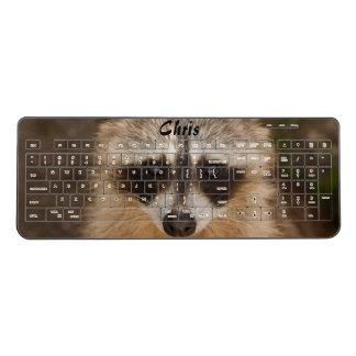 Racoon Animal Wireless Keyboard