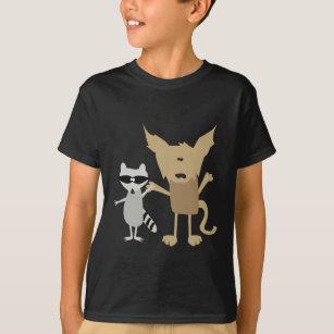 Racoon & Bobcat T-Shirt