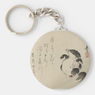 Racoon-dog (Tanuki) by Shibata Zeshin Key Ring