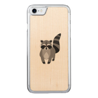 Racoon Rascal Carved iPhone 7 Case