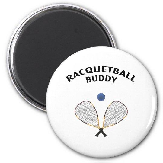 Racquetball Buddy Magnet