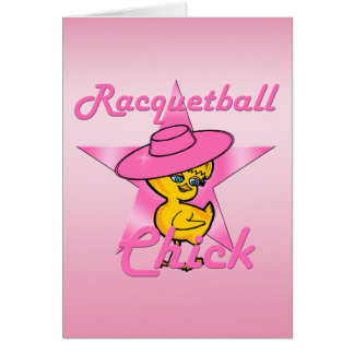 Racquetball Chick #8 Card