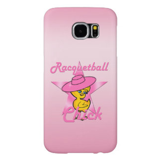 Racquetball Chick #8 Samsung Galaxy S6 Cases