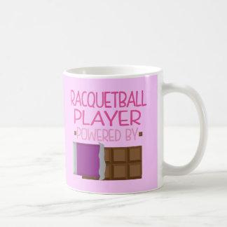 Racquetball Player Chocolate Gift for Her Coffee Mug