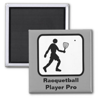 Racquetball Player Pro Magnet