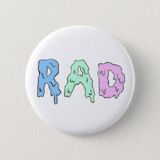Rad 6 Cm Round Badge