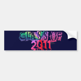 Rad Class Of 2011 Stationery, Stickers & Postcards Bumper Stickers