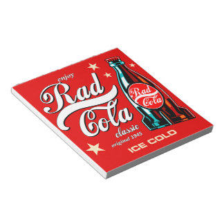 Rad Cola Notepad