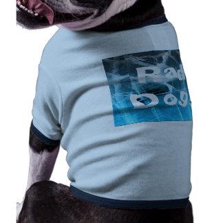 Rad Dog Medium Blue Custom Doggie Ringer Tee Doggie T Shirt