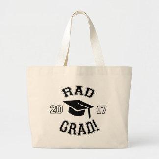 Rad Grad 2017 Large Tote Bag