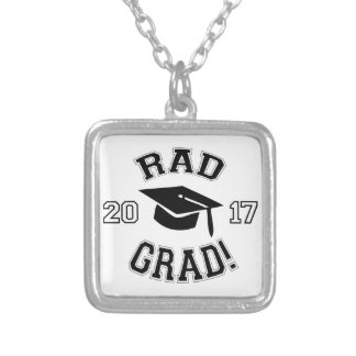 Rad Grad 2017 Silver Plated Necklace