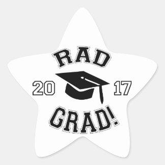 Rad Grad 2017 Star Sticker
