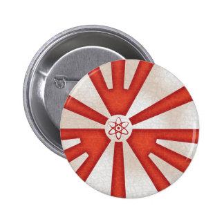 Rad Levels Rising 6 Cm Round Badge