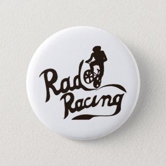 rad racing 6 cm round badge