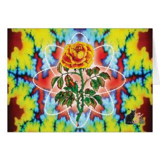 Rad Rad Rose Card