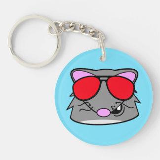 Rad Rat Key Ring