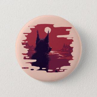Rad Red Bootons 6 Cm Round Badge