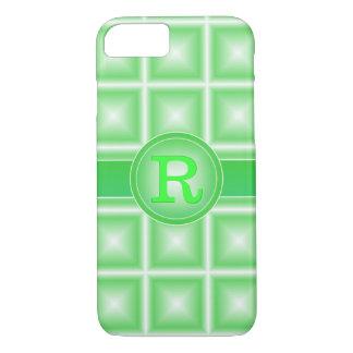 Rad Spring Green Starlight 3D Monogram iPhone 7 Case