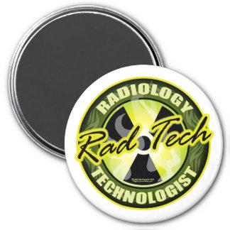 Rad Tech 7.5 Cm Round Magnet