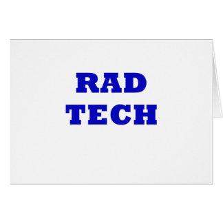 Rad Tech Card