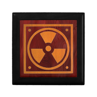 Rad Wood Small Square Gift Box