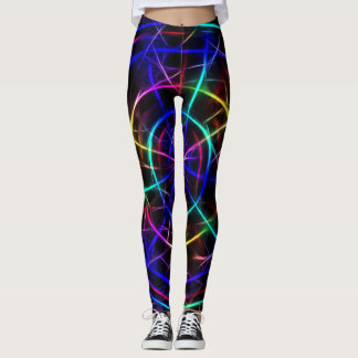 Radar Magic Neon Design Leggings